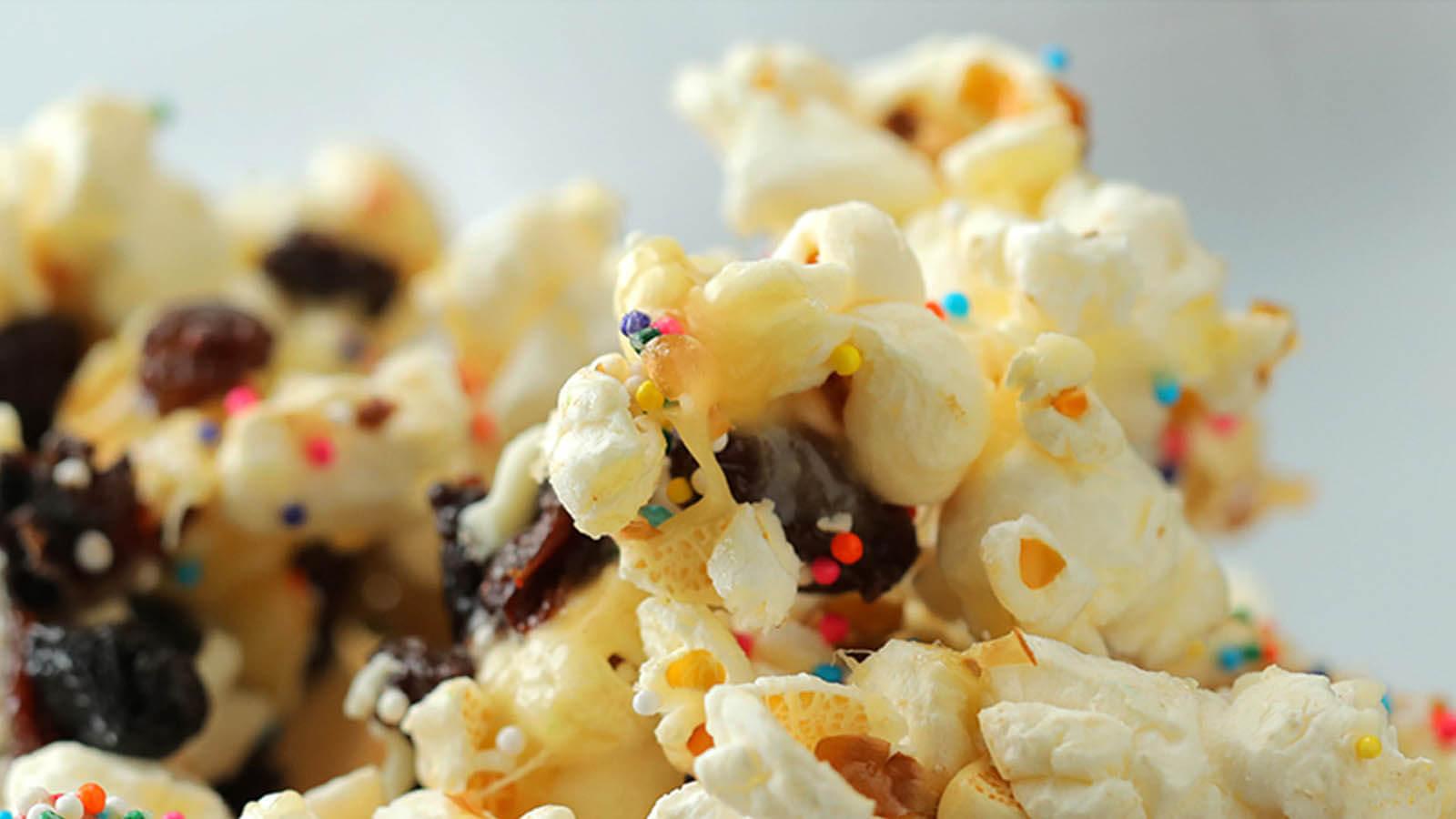 Cake Batter Popcorn Mix