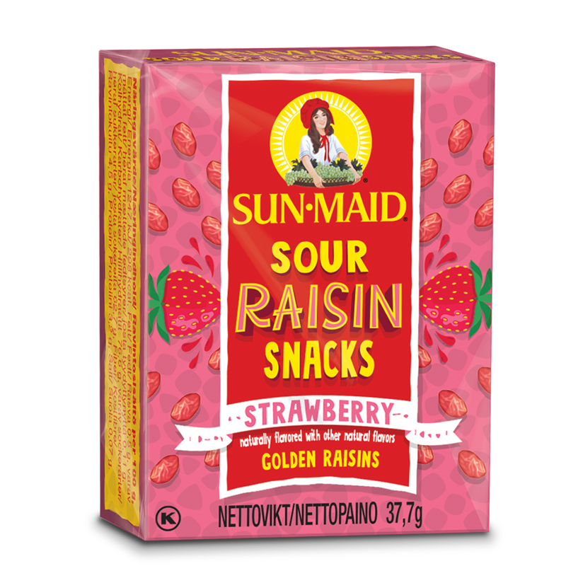 Sun-Maid strawberry 37g
